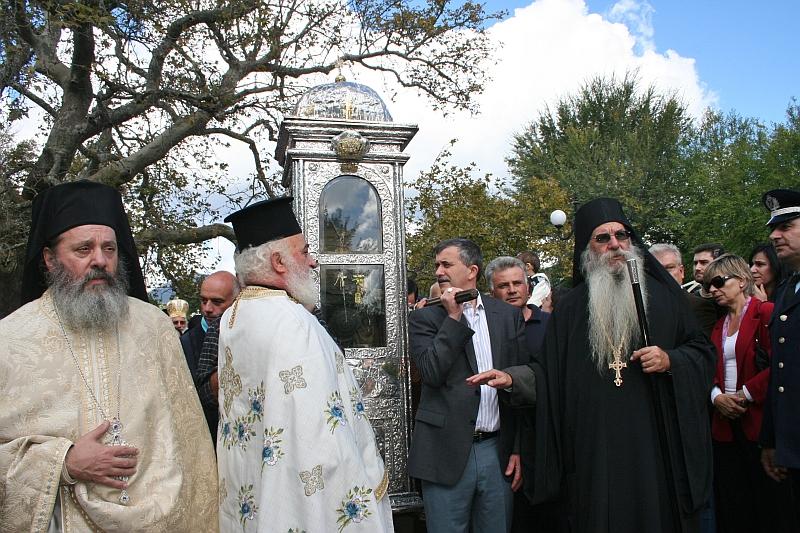 Silver Casket - Saint Gerasimos of Kefalonia