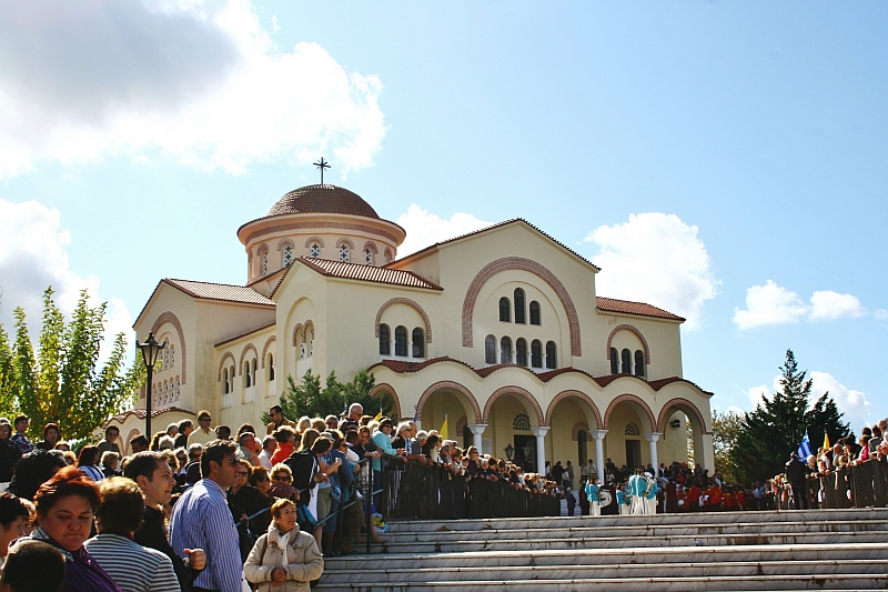 The Church and Monastery of Saint Gerasimos of Kefalonia